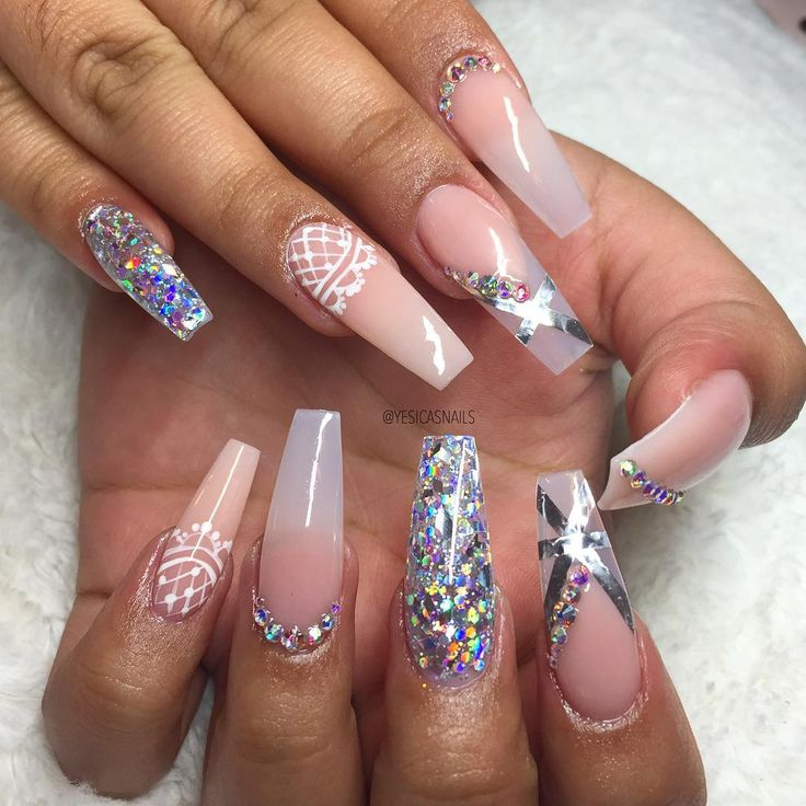 555 best Nails images on Pinterest | Nail designs, Coffin nails and ...
