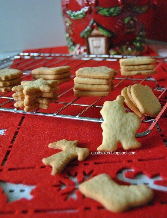 Shortbread butter cookies (kruche maślane ciasteczka)