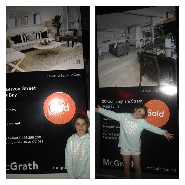 ❤️Friday night exchanges with my little helper   20 Cunningham street , matraville $1 610000  2 Reservior street, Little Bay $1 550 000  Thanks Elizabeth James and Laura Slater .#property#mcgrath#lovemyjob❤️