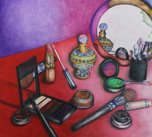 Make-Up Still-Life