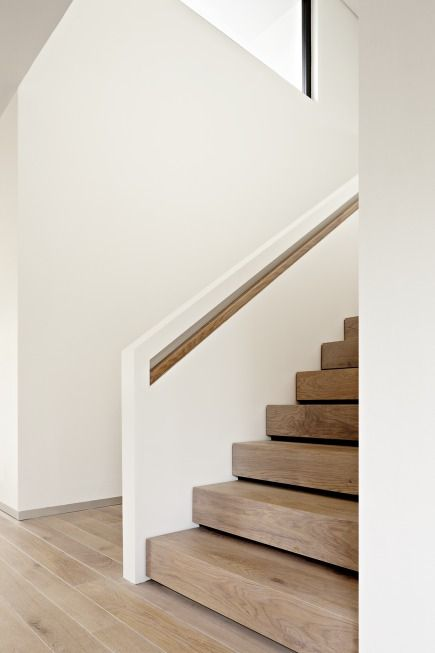 Treppe - Niedrigenergiehaus