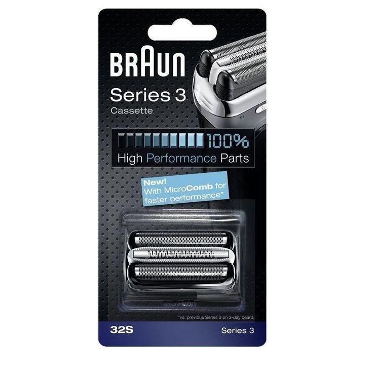 BRAUN 32S Series 3 Shaver Cassette Foil & Cutter 100% high performance parts #Braun