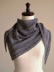 Ravelry: The Age of Brass and Steam Kerchief pattern by Orange Flower Yarn