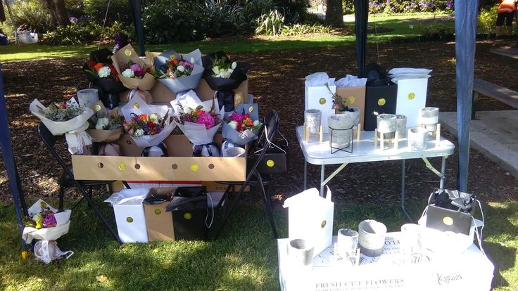 Market Day flowerpotts.co.nz first day flowers florist hawera