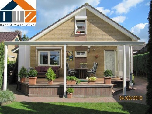 terrassenüberdachung aus aluminium | terrassenüberdachung, Terrassen ideen