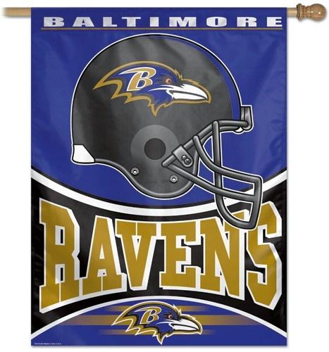 Baltimore Ravens Banner $24.95 http://www.mysportsdecor.com/baltimore-ravens-banner.html #baltimoreravens #baltimoreravensbanner #baltimoreravensmerchandise