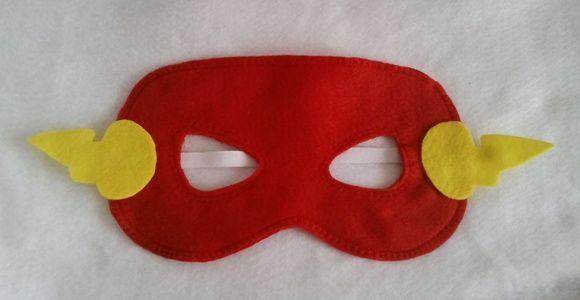 Máscara em feltro Liga da Justiça 01