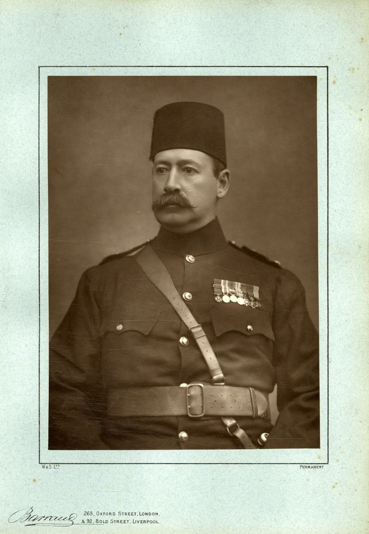 Major Général Sir Francis Wallace Grenfell par Barraug    #Personnalités_du_XIXe_siècle #Divers_XIXe