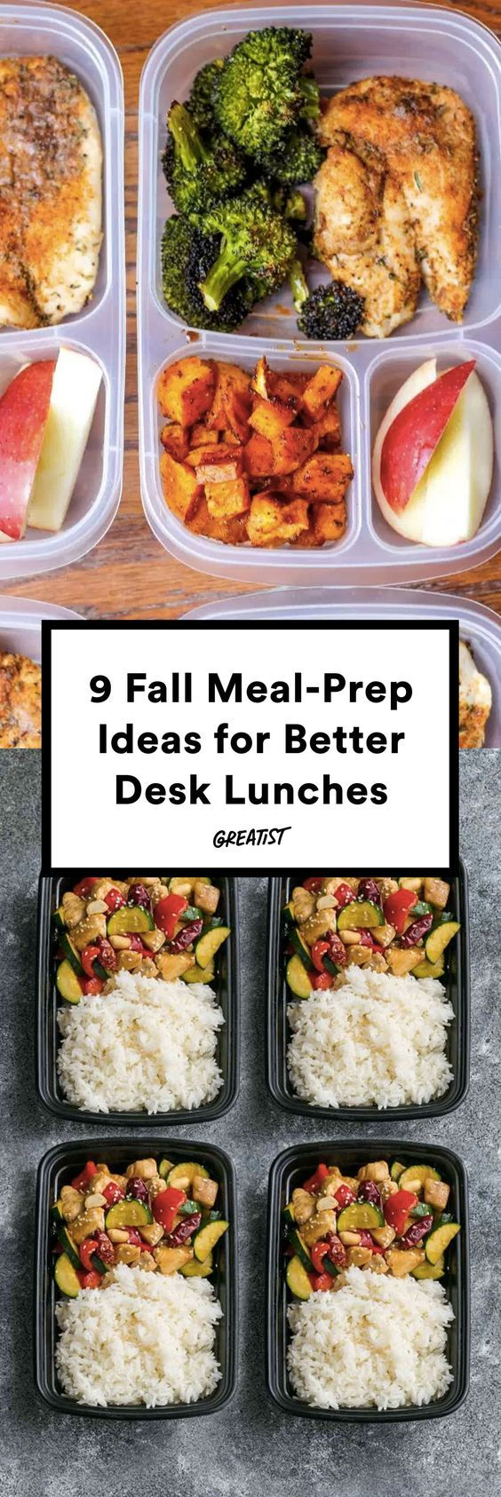 It's time to get back on the healthy train. #greatist https://greatist.com/eat/meal-prep-lunches-to-make-in-fall