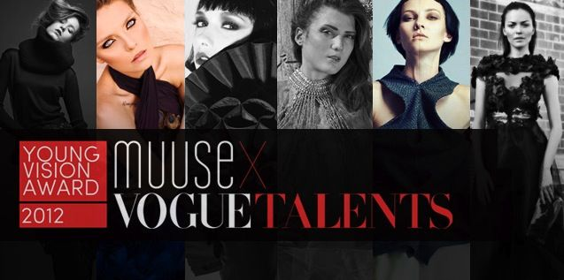 MUUSE x VOGUE Talents Young Vision Award Finalists