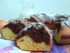 torta morbidissima latte panna cacao, una torta resa tanto soffice dalla panna che viene aggiunta nell'impasto dopo essere montata., dolce per colazione