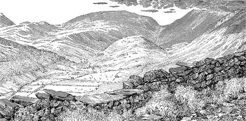 The Troutbeck valley - A Wainwright