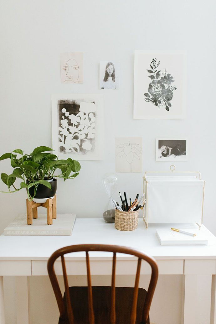 3 Ways To Style A $60 Amazon Desk   Glitter Guide