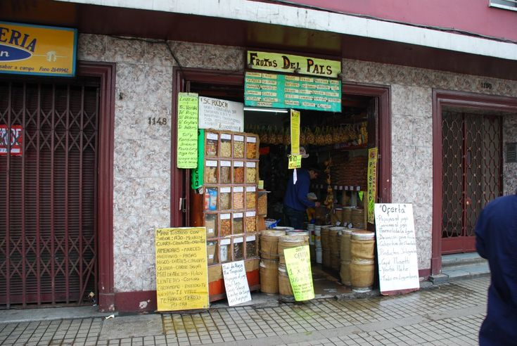 Where to buy X in Santiago? A tale of brown sugar, hazelnuts, pecans, and more.