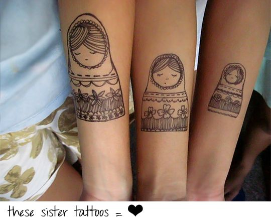These Sister Tattoo