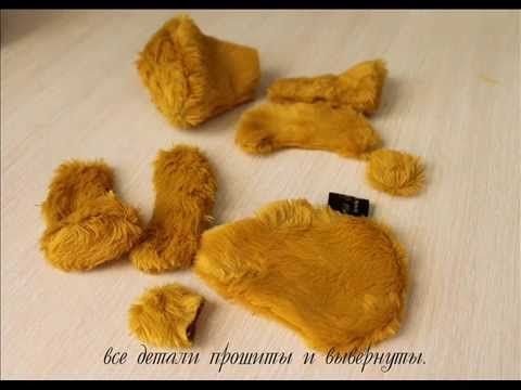 Мастер-класс по мишке-тедди. Автор Ирина Сазанович