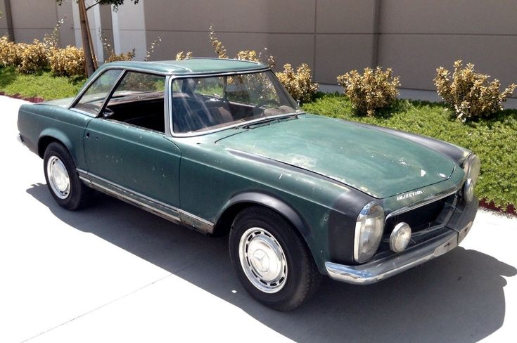 Pagoda Style: 1964 Mercedes 230 SL - http://barnfinds.com/pagoda-style-1964-mercedes-230-sl/