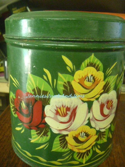 TALA  English Biscuit Tin  Found In France by TinTack on Etsy