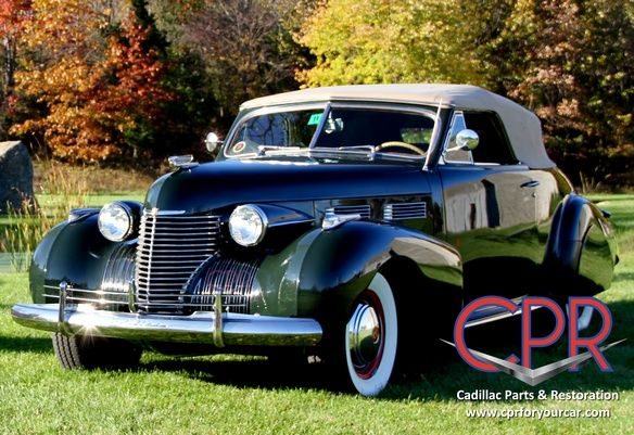 Completed 1940 Cadillac restoration project | Classic