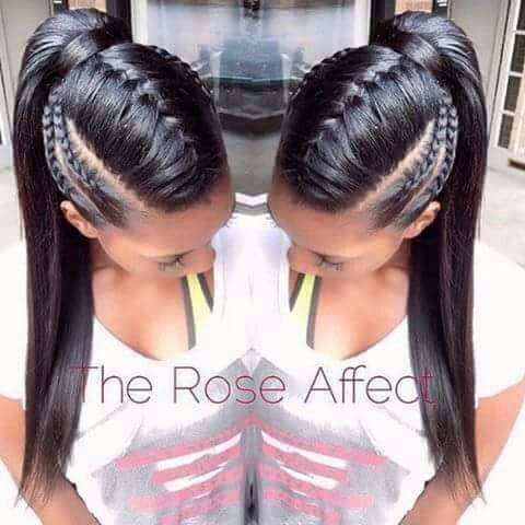 plaiting hair style 1000 ideas about black ponytail hairstyles on 7153 | b7153c58a5cd35ebee721e092c7aa767