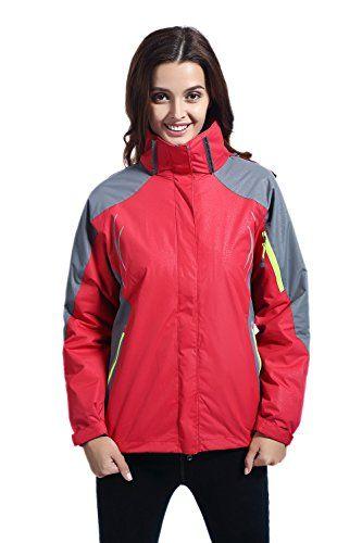 Leajoy Outdoor Waterproof Jacket 3 in 1 Mountain Windproof