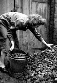 Getting the coal in was always my job.