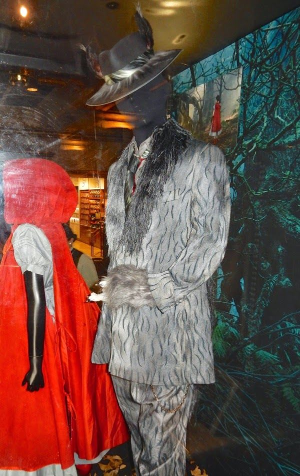 Johnny Depp The Wolf Into the Woods costume