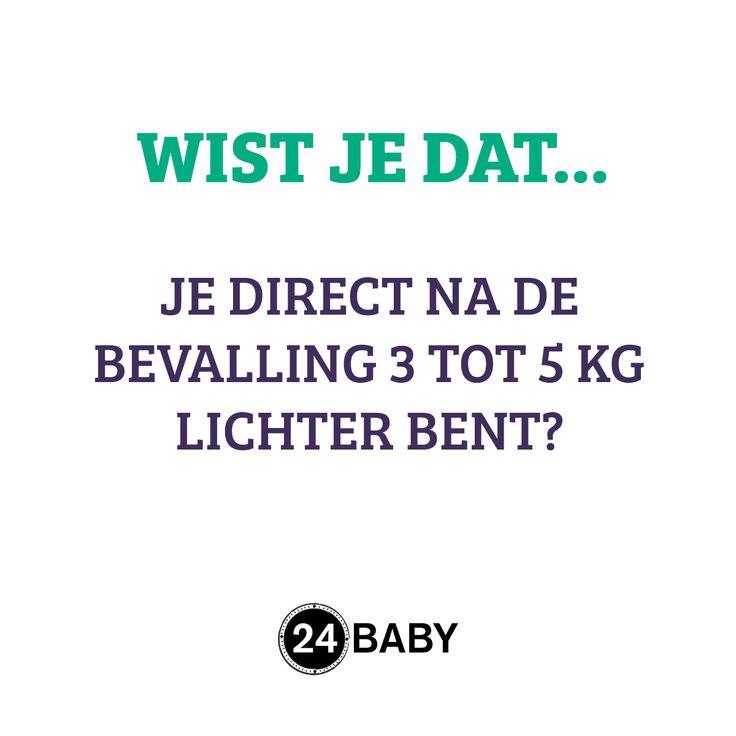 Het kan zelfs nog meer zijn! #mama #baby #zwanger #zwangerschap www.24baby.nl
