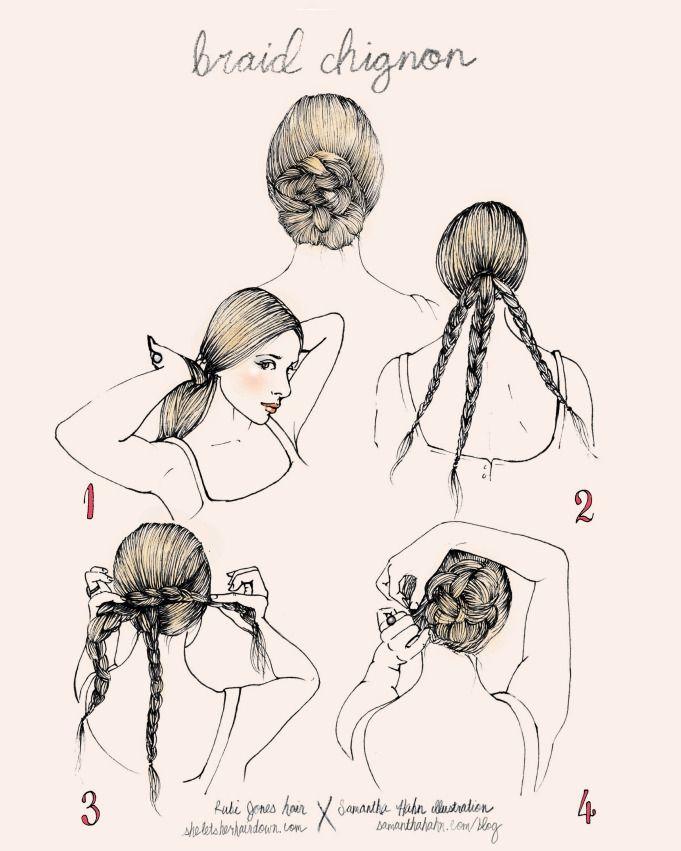 Marvelous 17 Best Images About Peinados On Pinterest Updo Makeup Short Hairstyles Gunalazisus
