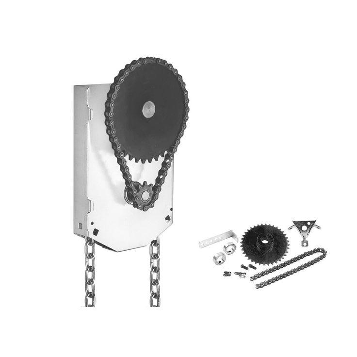Garage Door Chain Hoist 4:1 Reduction Jack Shaft Mounted (1 Inch Shaft) | RP: $84.95, SP: $52.27