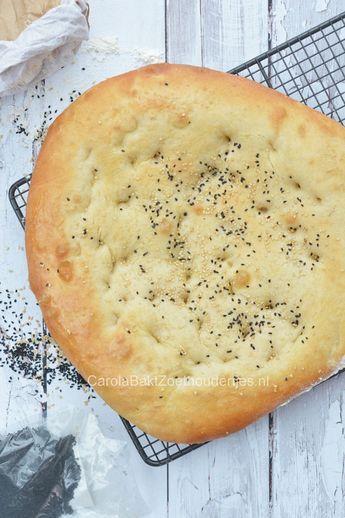 Met dit recept bak je supersnel Turks brood zonder het te hoeven kneden.