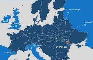 Идеальное путешествие: FlyOne будет летать из Кишинёва в Москву