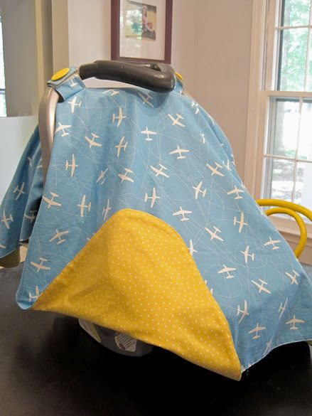 Carseat canopy pattern