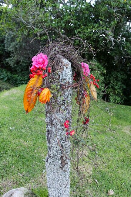 Hair flowers--with a difference