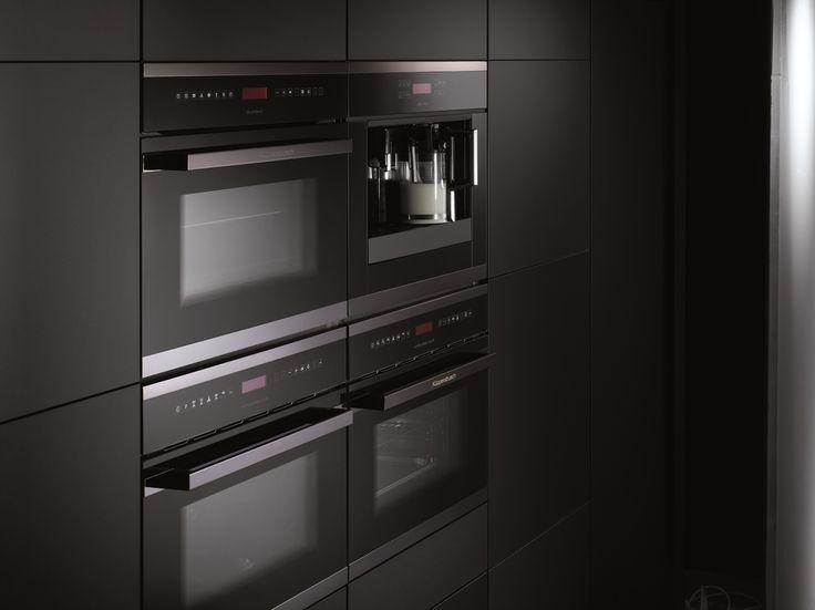 Kitchen With Appliances Black