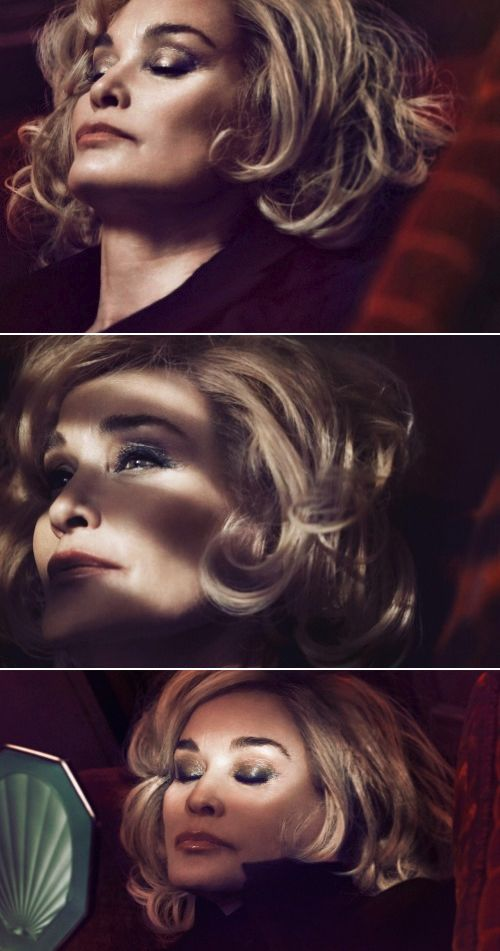 MARC JACOBS Spring 2014 beauty campaign actress Jessica Lange by David Sims
