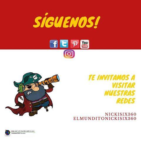 Te invitamos a seguir nuestras redes y conocer nuestros planes de viaje por Colombia y el mundo #Nickisix360 #Viajaporelmundoweb #Elmundito