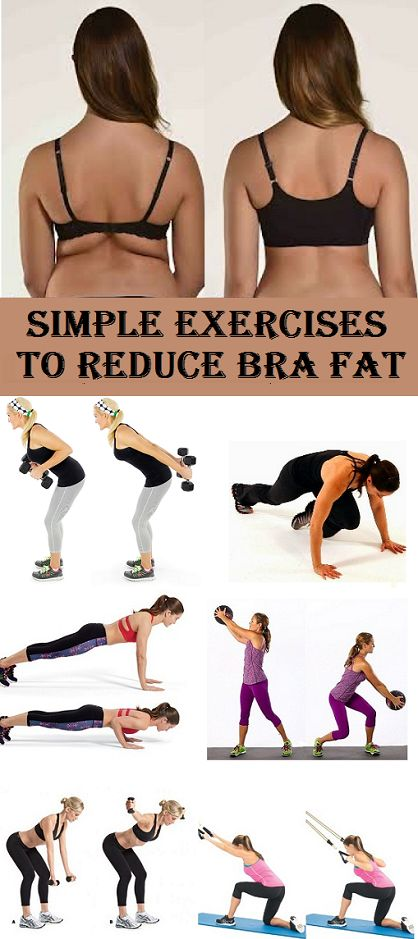 Top 8 Simple Exercises to Reduce Bra Fat - stylecrown.us-Many ladies have issues with getting bras to fit properly. In an ideal world, we would be able to slip on a bra, it would [...]