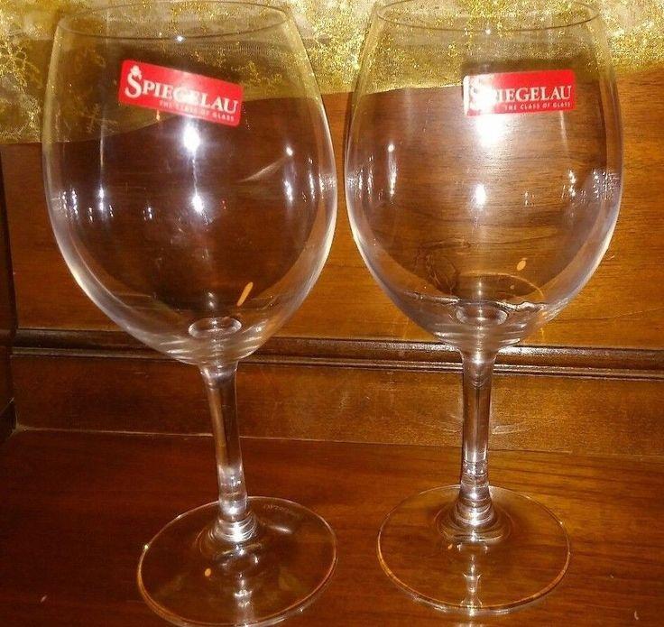 Spiegelau Winelovers Glasses Set Of 2 Made In Germany  #Spiegelau