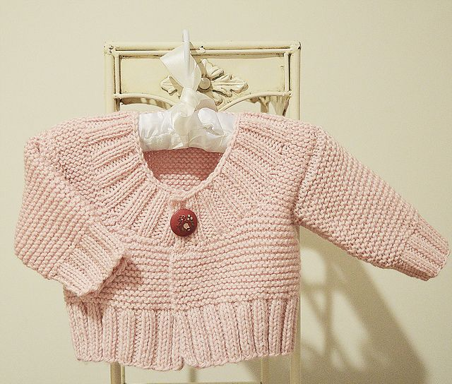 Ravelry: Baby Quick Knit Cardigan pattern by OGE Knitwear Designs