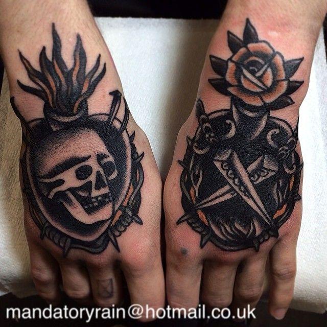 Joe Ellis as featured on Swallows & Daggers. www.swallowsndaggers.com #tattoo #tattoos #hands