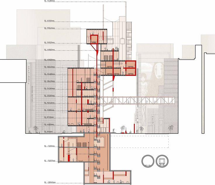 #section #shibuya #circulation #tower