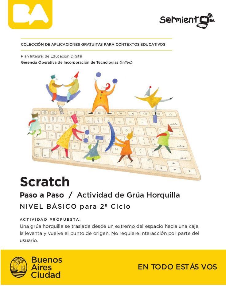 #Scratch nivel básico con secuencia didáctica