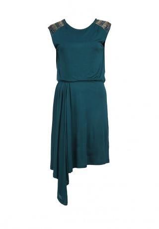 Top secret оливковое платье