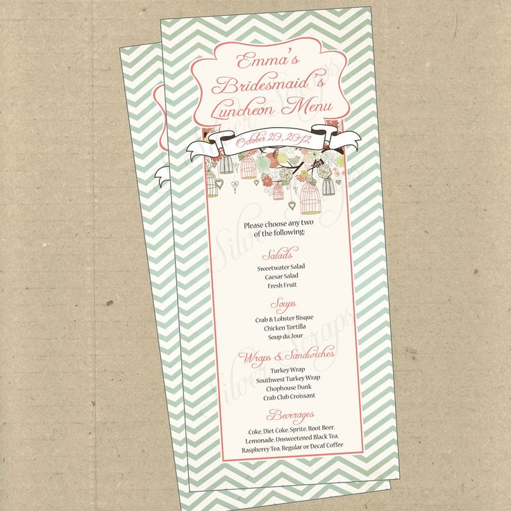 Baby Shower Lunch Menu ~ Best images about bird baby shower on pinterest
