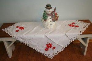 POINSETTIA & BATTENBURG LACE PURE COTTON TABLECLOTH  SHOP NOW https://thelaceandlinensco.com/store/products/battenburg-lace-poinsettia-pure-cotton-tablecloth-in-large-sizes  #shopvintage #vintagedecor #weddings #lace #battenburg #antique #handembroidered #vintagedoily #vintagefinds #victorian #vintagegoods #vintagelinens #linens #vintagetablecoth #tablecloth #decor #cotton #bedding #cottage #home #1940s #curtains #french #vintagecotton #diy #vintagebaby #christmas
