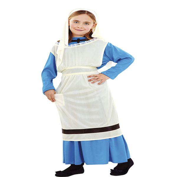 disfraz de lavandera nia varias tallas este traje es ideal para representar en