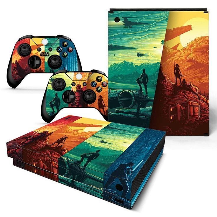 Vinyl Skin Sticker Protector for Microsoft Xbox one X and 2 controller skins Stickers for XBOX video games //Price: $15.99 & FREE Shipping //   #quadcopter