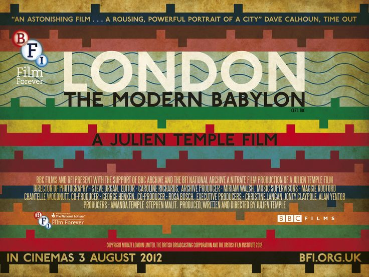 London: The Modern Babylon (Julien Temple, 2012)