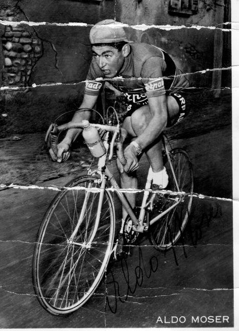 """La foto nel cassetto 5 - """"Il Bocia"""" - Aldo Moser 1965 in maglia Torpado - #ciclocollection #museo #lafotonelcassetto #aldomoser #moser #1965 #torpado"""